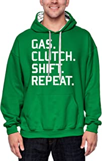 Gas. Clutch. Shift. Repeat. - Gearhead Unisex Hoodie Sweatshirt