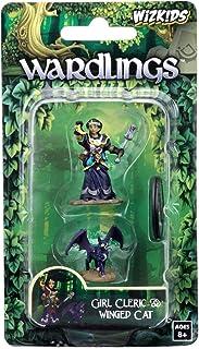 NECA WizKids Wardlings RPG Figures: Girl Cleric & Winged Cat