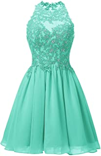 Women's Short Prom Cocktail Dress Evening mal Gowns Appliques Bodice
