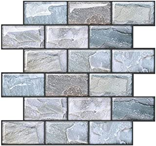 Joqixon Peel And Stick Wall Tile For Kitchen Backsplash