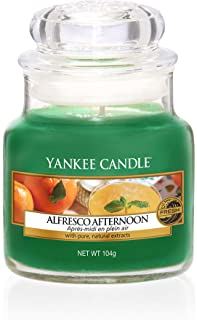Yankee Candle Small Jar Scented Candle, Alfresco Afternoon