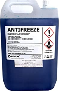 Hexeal BLUE ANTIFREEZE  amp  COOLANT LITRE -37 High Concentrate Longlife