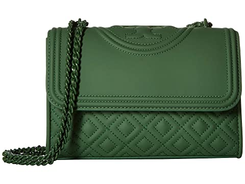 9eb26dae67af Tory Burch Fleming Matte Small Convertible Shoulder Bag at Zappos.com