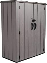 SHED STORE AND MORE - VERTICAL STORAGE SHED - 53 CUBIC FEET