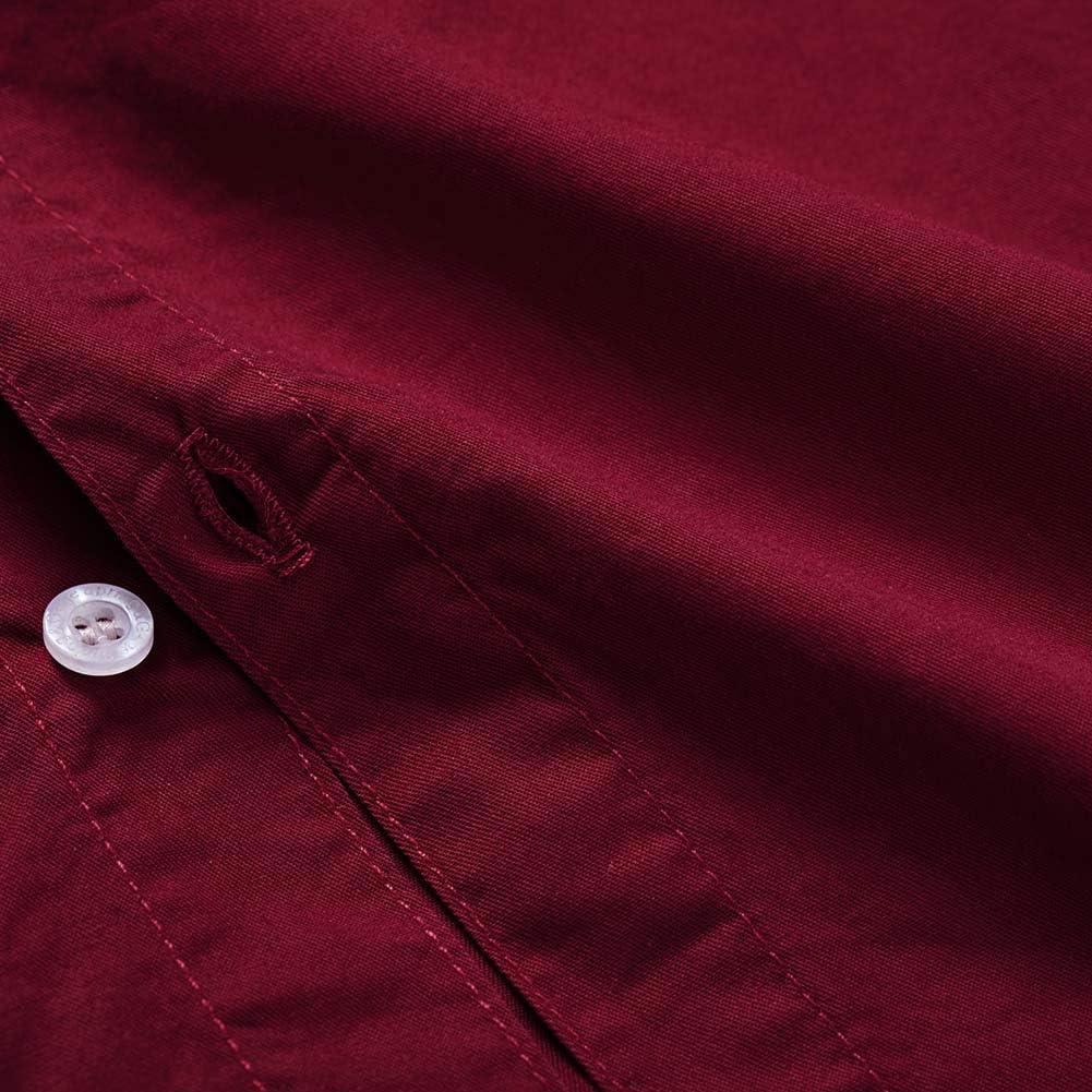 Spring/&Gege Boys Long Sleeve Uniform Cotton Twill Button Down Shirt