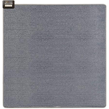 フリーダン ホットカーペット 2畳 本体 176×176cm グレー 軽い 小さく畳める 切り忘れ防止タイマー(8時間自動OFF) 暖房面2面3通り切換 ダニクリーン スライド式温度調節 FPU201