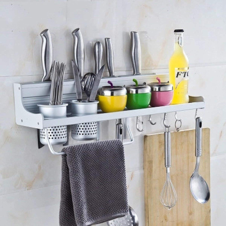 Der Kitchen Auminum Seasoning Rack Muti-Purpose Storage Rack Storage Shelves