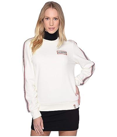 Hunter Original Campus Sweatshirt (Hunter White) Women