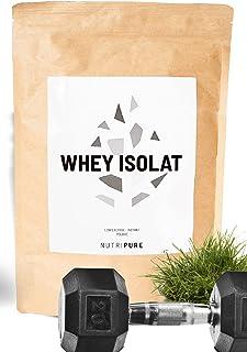 WHEY ISOLATE NATIVE 94% • Sans lactose • 24% BCAA & 52% EAA • Lait frais de pâturages français • 94% Protéines non dénatur...