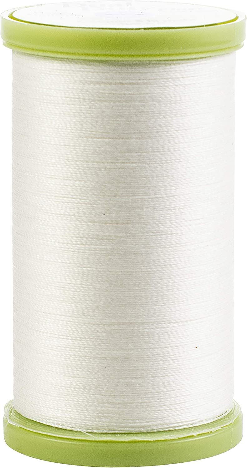 Coats Dual Duty Max 42% OFF Plus Hand Ranking TOP12 325yd-24 Quilting Pk-White Whi Thread