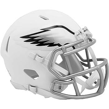 Chrome Philadelphia Eagles Riddell Mini Football Casque