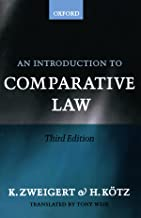 Best introduction to comparative law Reviews