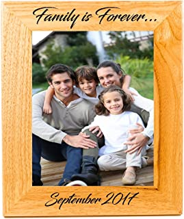 Sofia's Findings Personalized - Custom Wooden Picture Frame (8x10)