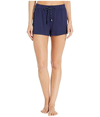 Splendid PJ Shorts (White/Navy) Women