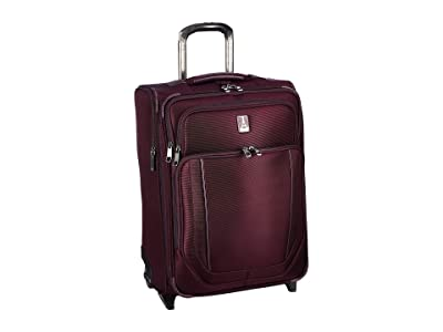 Travelpro 23 Crew Versapack Max Carry-On Expandable Rollaboard (Perfect Plum) Luggage
