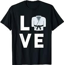 I Love Martial Arts Shirt | Judo Karate Taekwondo Kids Gift