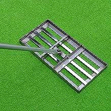 Yongqin Golf Gazon Leveling Hark Golf Tuin Gras Met Extra Lange Handvat Niveau Bodem of Vuil Grond Oppervlakken Gemakkelij...