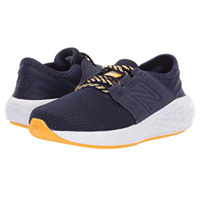 New Balance Kids IDCRZv2 (Infant/Toddler) (Pigment/Aztec Gold) Boys Shoes
