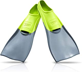 Speedo Unisex-Adult Swim Training Fins Rubber Long Blade