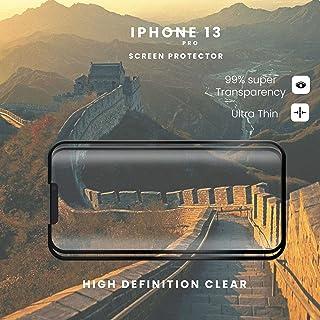 skärmskydd kompatibelt Kompatibel för apple 2-pack iPhone 13 PRO - 9D härdat glas - Toppkvalitet/RIVANOO SCREEN PROTECTOR ...