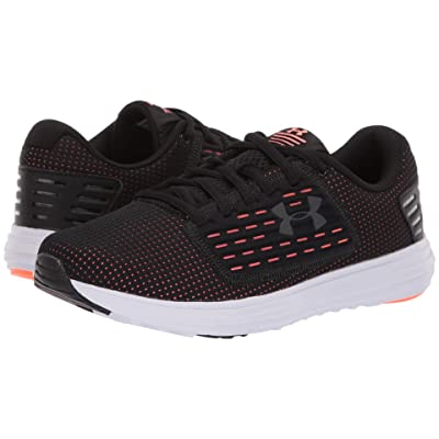 Under Armour UA Surge SE (Black/Peach Plasma/Metallic Gunmetal) Women