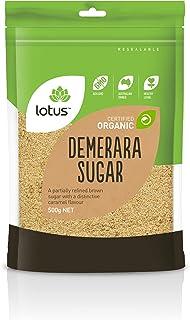 Lotus Organic Demerara Sugar 500 g, 500 g