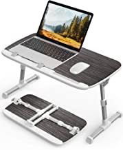 AboveTEK Laptop Desk for Bed, Laptop Table Trays for Eating and Writing, Adjustable Laptop Bed Tray Tables, Foldable Lapto...