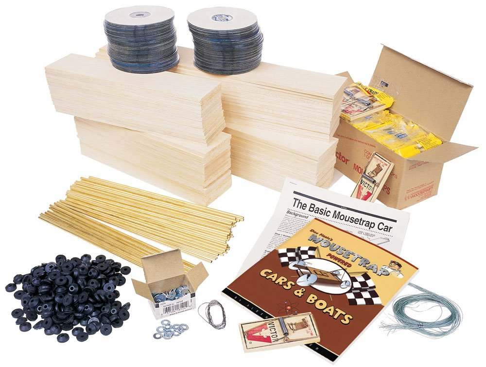 Pitsco Balsa Wood Mousetrap Excellence Vehicle Students For Kit Free shipping anywhere in the nation 30