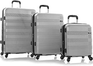 Heys Runway 4W Trolley 3pcs. Set - Silver