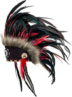 Feather Headdress | Native American Indian Inspired | Choose Color