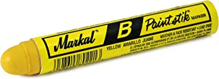Hot Max 27012 Markal Yellow Stick Marker, 2-Pack
