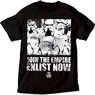 Star Wars Adult Support The Troops Storm Trooper Empire, Black