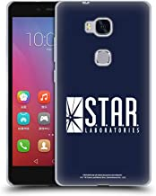 Official The Flash TV Series Star Labs Logos Soft Gel Case Compatible for Huawei Honor 5X / GR5