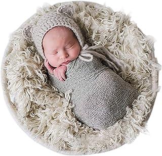 035a818cbdd Sunmig Newborn Baby Stretch Wrap Photo Props Wrap-Baby Photography Props  (Light Grey)