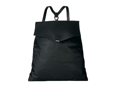 AllSaints Nilo Flat Backpack (Black) Backpack Bags
