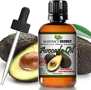 Avocado Oil For Hair Skin Nails - Natural Dry Skin Face Moisturizer - Collagen Boosting Anti Aging Combat F...
