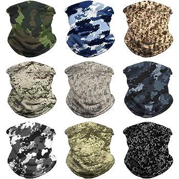 Headband Bandana Head Wrap Scarf Neck Warmer Headwear Balaclava for Sports