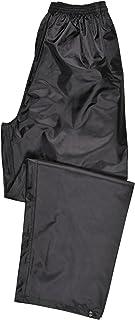 Portwest Klassische Regenhose für Erwachsene Unisex, Farbe: Schwarz, Größe: L, S441BKRL