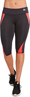 CP Women's Performance Running Capris Pants Leggings-Capris
