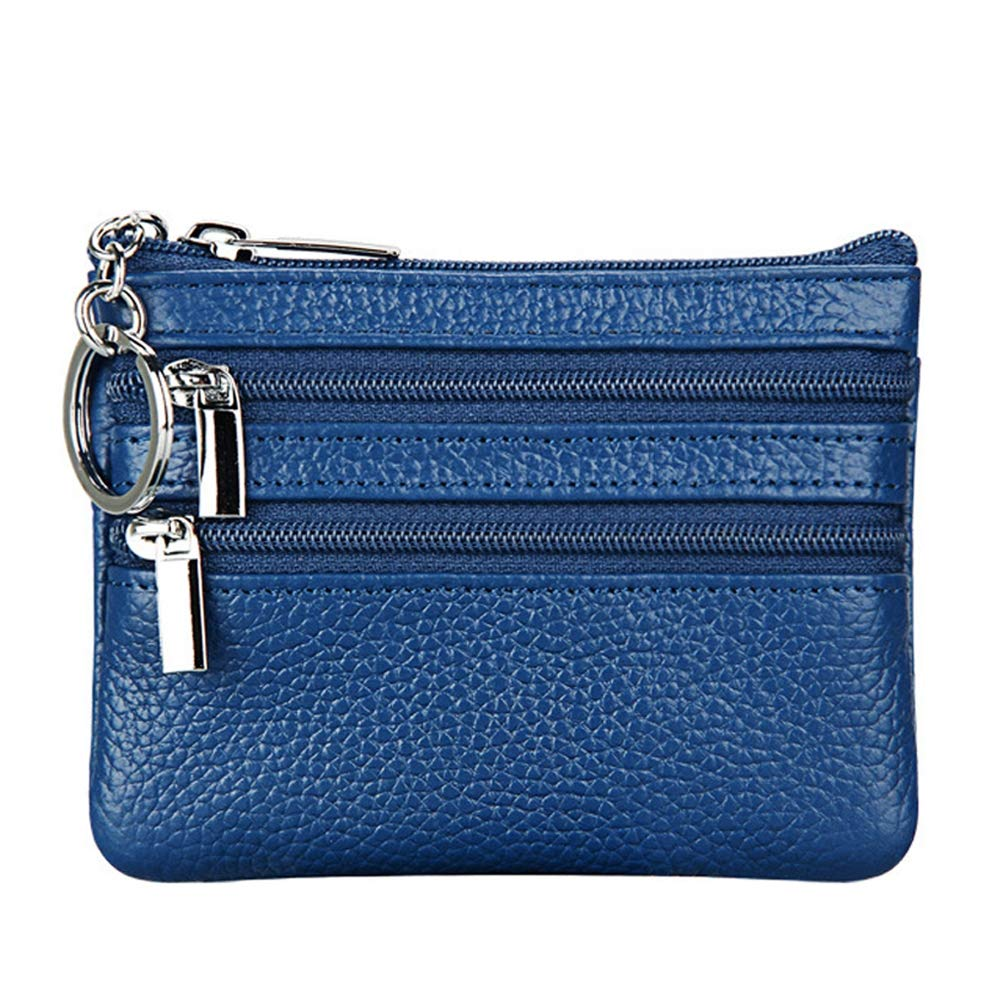 Womens Genuine Leather Change Wallet