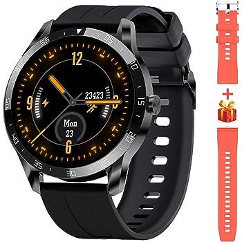 Blackview X1 Smartwatch Orologio Fitness Uomo Donna Impermeabile 5ATM Smart Watch Cardiofrequenzimetro da Polso Contapassi Smartband Activity Tracker Bambini Cronometro per Android iOS (46mm)
