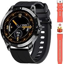 Blackview X1 Smartwatch,Reloj Inteligente Fitness Tracker Hombres Mujeres Impermeable 5ATM Muñeca Monitor de Ritmo cardíaco Podómetro Smartband Activity Tracker Kids Stopwatch para Android iOS (46 mm)