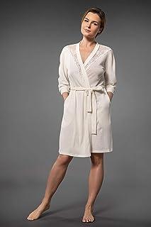 Millesime Batas Mujer Sexy | Bata encaje Regalos Mujer Sexy Bata Mujer Talla Grande Lencería Kimono Camison Mujer Vestido ...