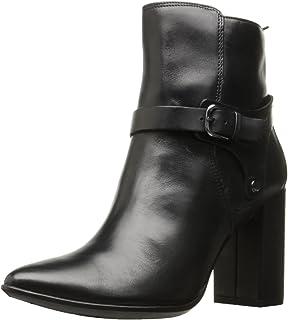 ECCO Women's Women's Shape 75 Pointy Block Boot Ankle Bootie, Black, 41 EU / 10-10.5 US