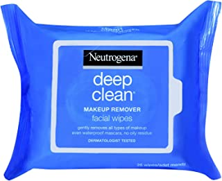 Neutrogena Deep Clean Make-up Remover Refreshing Oil-Free Wipes 25s [GI36000180]