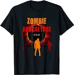 Zombie Apocalypse Creepy Total Solar Eclipse T-shirt