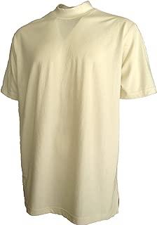 Good Life Mens Active Pique Mock Turtleneck Shirt Cotton Poly Blend