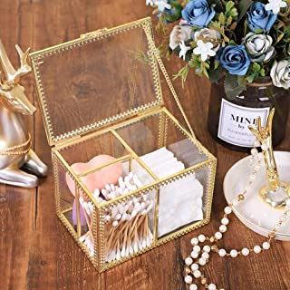 LPFMM Multifunctional Metal Storage Box Cosmetic Storage Box Storage Box Cosmetic Washbasin Cosmetic Storage Box (Color : Gold)
