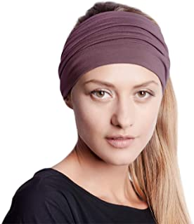 BLOM Original Headbands for Women. Wear for Yoga, Fashion, Working Out, Travel, or Running. Multi Style Design for Hair St...