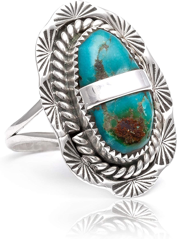 $500Tag Max 88% OFF Sun Silver Certified Navajo American Turq favorite Native Natural